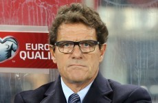 Russian fans are willing to fork out how much to get rid of Fabio Capello as manager?