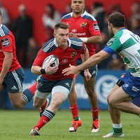 Munster's Scannell named at 10 as Emerging Ireland take on Uruguay