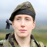 There are very, very few women in the Irish Army...
