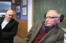 Stephen Hawking explains what would happen if Dara Ó Briain jumped in a Black Hole
