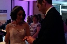 A woman just married a man she'd never seen before, live on Irish radio