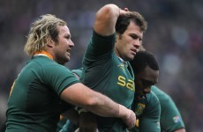 Montpellier have confirmed the signing of a powerful pair of Springbok brothers
