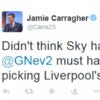 Jamie Carragher sums up Liverpool's horrible run of Premier League away fixtures