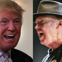 Neil Young to Donald Trump: 'Cease and desist from rockin' in the free world'