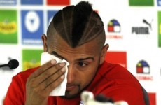 Tearful Vidal apologises after drink-driving Ferrari crash