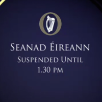 The government got a (very brief) scare in the Seanad today