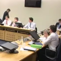 WATCH: There was a brief moment of hilarity at the banking inquiry earlier
