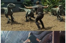 Zookeepers around the world are recreating this scene from Jurassic World and it's brilliant