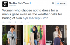"""Despicable and sexist"" - the New York Times is under fire for this headline"