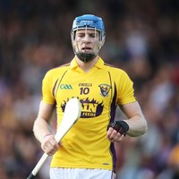 Jack Guiney hit 4-5 in a club match last night but won't play for Wexford this weekend
