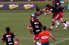 Rugby players mic'd up is our new favourite Super Rugby gimmick