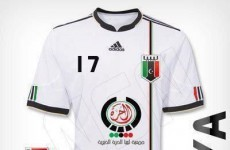 That was quick: Republic of Libya unveils new football kit