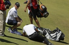 Concern for Jason Day after Australian collapses during second round at US Open