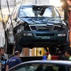 Man kills three and injures 34 after driving car into crowd