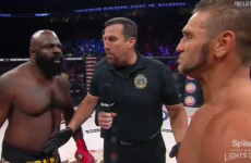 Kimbo Slice takes out 51-year-old Ken Shamrock with 1st round TKO