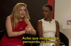 This reporter's excruciating interview with two OITNB actresses is going viral