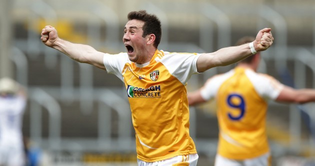 Division 4 Antrim have stunned Laois in the first big shock of the summer