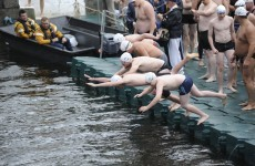 Gallery: hundreds brave Dublin's annual Liffey Swim