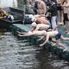 Gallery: hundreds brave Dublin's annual Liffey Swim