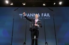Fianna Fáil is more popular than Sinn Féin in a new opinion poll