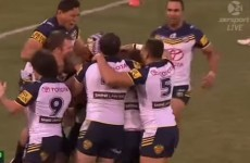 As dramatic game-winning drop goals go, this one takes the biscuit