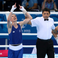 Brendan Irvine silences home crowd to secure Ireland's first medal at European Games