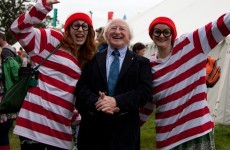 Higgins leads two Áras opinion polls but Labour's support falls