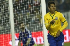 Reported Man United target Firmino scored to help Brazil into the Copa América quarter final