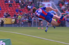 NRL player sets up incredible score after discovering he may be able to fly