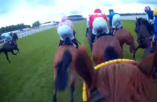 Amazing Jockey Cam shows you exactly how Frankie Dettori won the Diamond Jubilee Stakes at Ascot