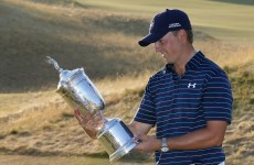 Jordan Spieth is just 25/1 to win the Grand Slam - here's why it's VERY unlikely