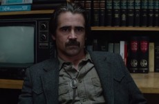 Everyone was obsessed with Colin Farrell's tie on tonight's True Detective