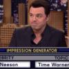 Seth MacFarlane did an impression of Liam Neeson and it was flawless