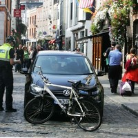 Woman hit by falling wooden rocking horse in Temple Bar tells of 'frightening' experience