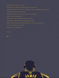 Nike have turned LeBron's NBA Finals heartbreak into an epic new ad