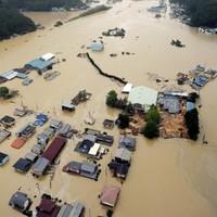 Typhoon dumps record rainfall and kills 20 in Japan