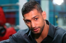 Amir Khan tells Manny Pacquiao to 'man up' if he wants to fight