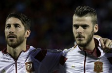Gary Neville scoffs at rumours of De Gea-Ramos swap deal