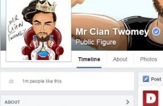 Irish Facebook phenomenon Cian Twomey just hit 1 million likes -- here's what you need to know