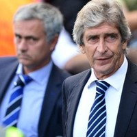 Manuel Pellegrini has taken a dig at Jose Mourinho