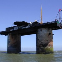 PHOTOS: Welcome to Sealand, the bizarre 'micronation' off the coast of England