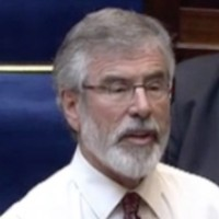 'I'm not entirely ignorant': Gerry Adams had another run-in with the Ceann Comhairle earlier
