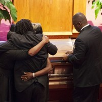 Hundreds gather for first funerals of Charleston shooting victims