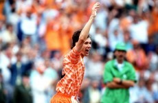 THAT Marco van Basten volley is 27-years old today