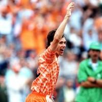 THAT Marco van Basten volley is 27-years old today