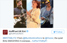 The Huffington Post said Hozier was British, and was forced to apologise