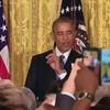 """WATCH: Obama tells trans heckler """"You're in my house"""""""