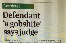 An Irish judge called a defendant a 'gobshite' and inspired the best headline ever