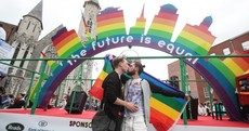 'We are really f***ing happy about being homosexual': Thousands take to the streets for Dublin Pride