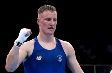 Michael O'Reilly has won Ireland's second gold of the day